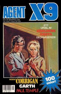 Cover Thumbnail for Agent X9 (Semic, 1971 series) #5/1987