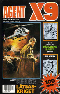 Cover Thumbnail for Agent X9 (Semic, 1971 series) #3/1988