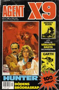 Cover Thumbnail for Agent X9 (Semic, 1971 series) #5/1988