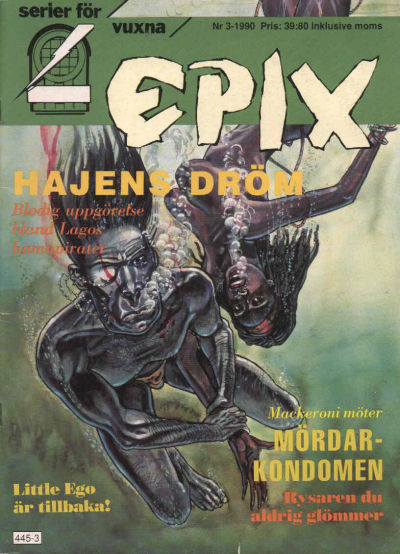 Cover for Epix (Epix, 1984 series) #3/1990 [71]