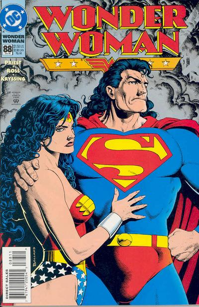 Cover for Wonder Woman (DC, 1987 series) #88 [Direct Sales]