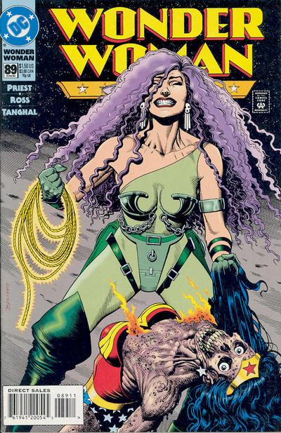 Cover for Wonder Woman (DC, 1987 series) #89 [Direct Sales]