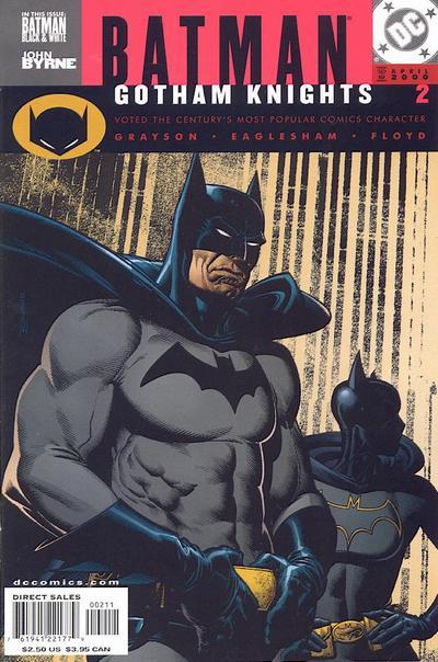 Cover for Batman: Gotham Knights (DC, 2000 series) #2