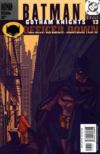 Cover for Batman: Gotham Knights (DC, 2000 series) #13