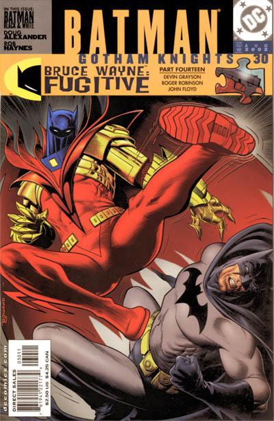 Cover for Batman: Gotham Knights (DC, 2000 series) #30