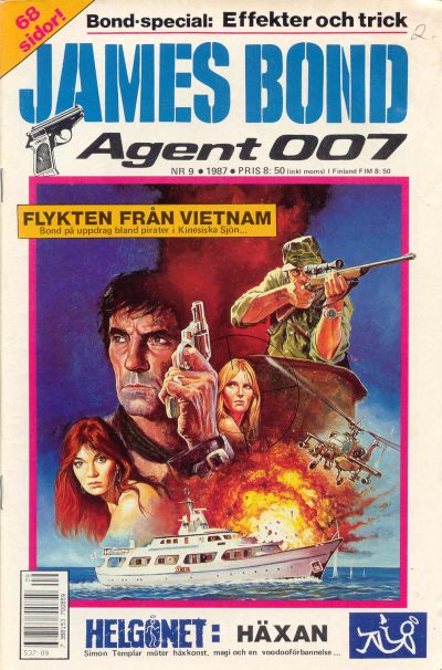 Cover for James Bond (Semic, 1965 series) #9/1987
