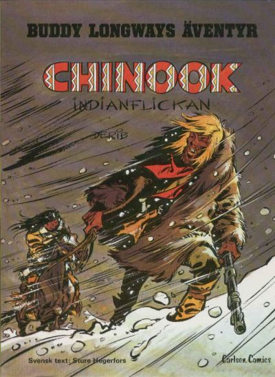 Cover for Buddy Longways äventyr (Carlsen/if [SE], 1977 series) #1 - Chinook