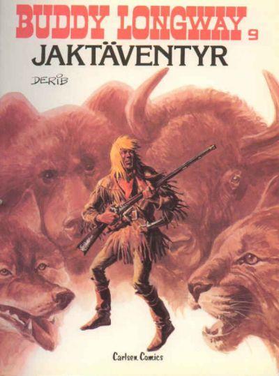 Cover for Buddy Longways äventyr (Carlsen/if [SE], 1977 series) #9