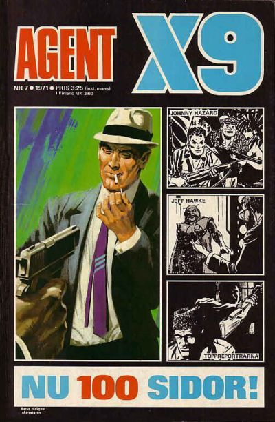 Cover for Agent X9 (Semic, 1971 series) #7/1971