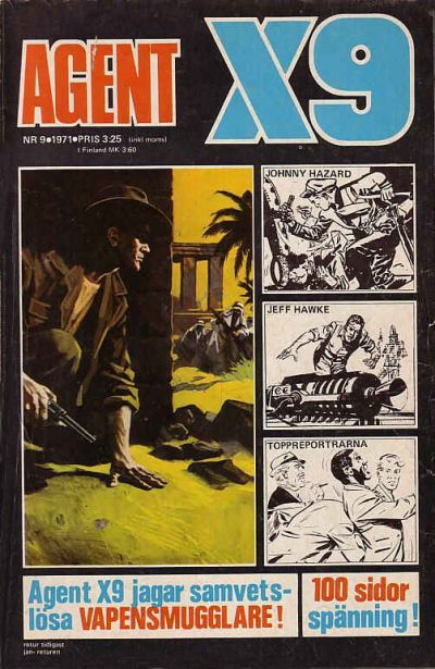 Cover for Agent X9 (Semic, 1971 series) #9/1971