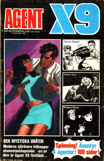 Cover for Agent X9 (Semic, 1971 series) #5/1972