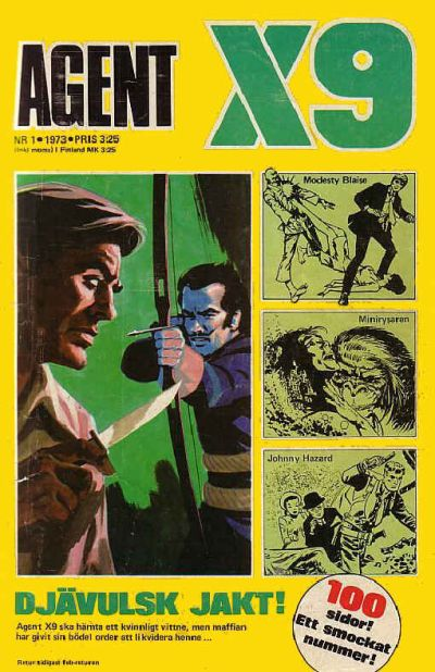 Cover for Agent X9 (Semic, 1971 series) #1/1973