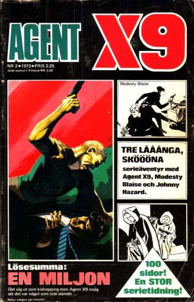 Cover for Agent X9 (Semic, 1971 series) #2/1973