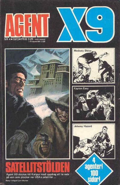 Cover for Agent X9 (Semic, 1971 series) #4/1973