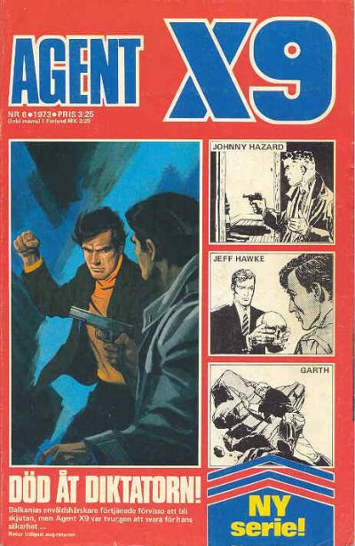 Cover for Agent X9 (Semic, 1971 series) #6/1973