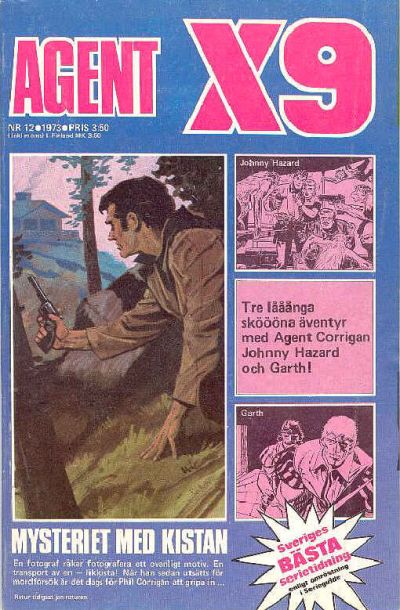 Cover for Agent X9 (Semic, 1971 series) #12/1973