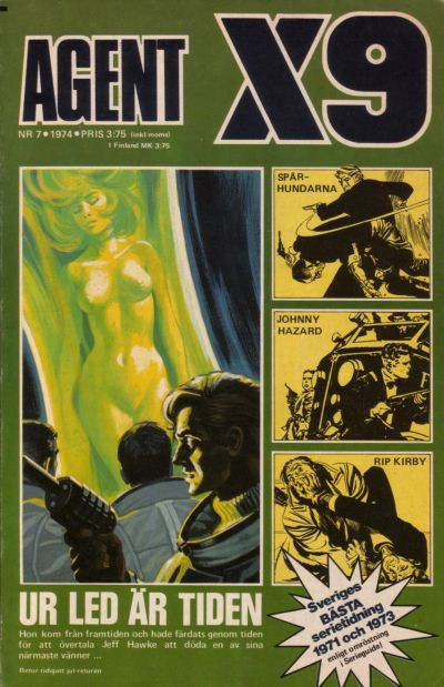 Cover for Agent X9 (Semic, 1971 series) #7/1974