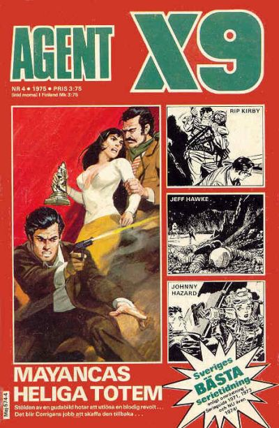 Cover for Agent X9 (Semic, 1971 series) #4/1975