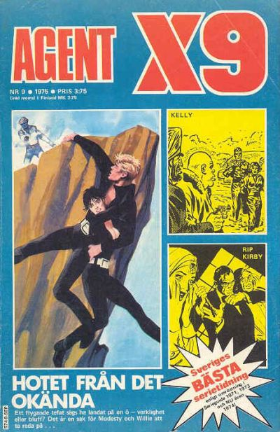 Cover for Agent X9 (Semic, 1971 series) #9/1975