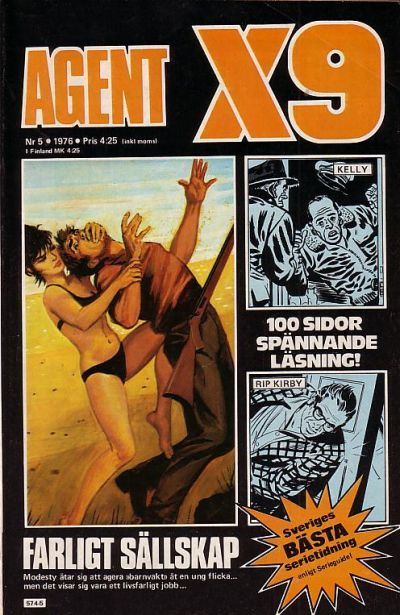 Cover for Agent X9 (Semic, 1971 series) #5/1976