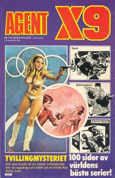 Cover for Agent X9 (Semic, 1971 series) #7/1976