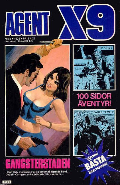 Cover for Agent X9 (Semic, 1971 series) #9/1976
