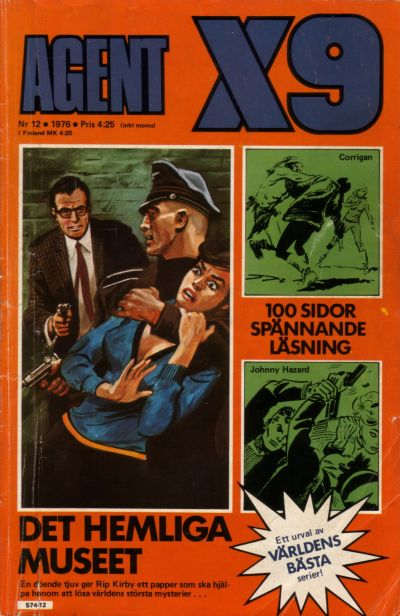 Cover for Agent X9 (Semic, 1971 series) #12/1976