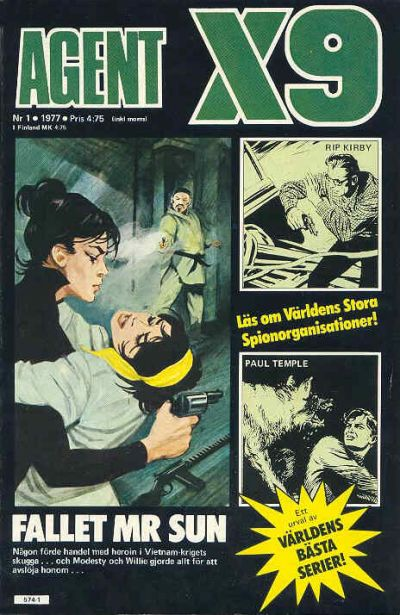 Cover for Agent X9 (Semic, 1971 series) #1/1977