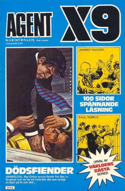 Cover for Agent X9 (Semic, 1971 series) #5/1977