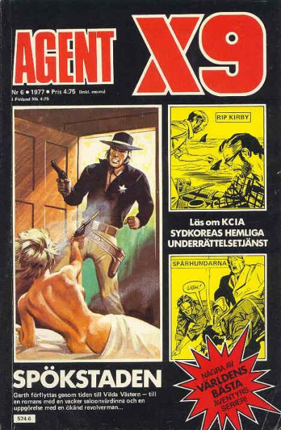 Cover for Agent X9 (Semic, 1971 series) #6/1977