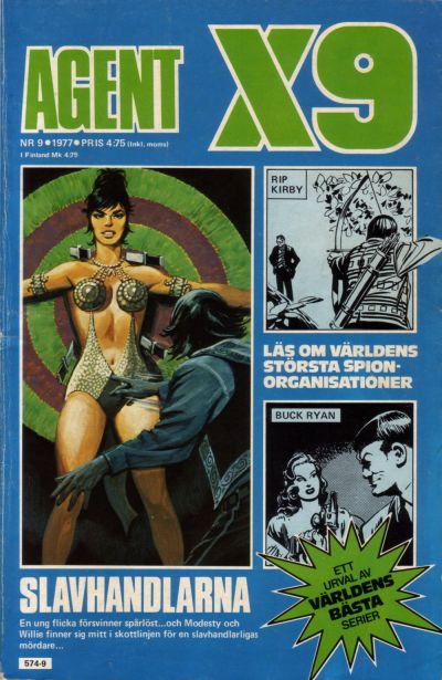Cover for Agent X9 (Semic, 1971 series) #9/1977