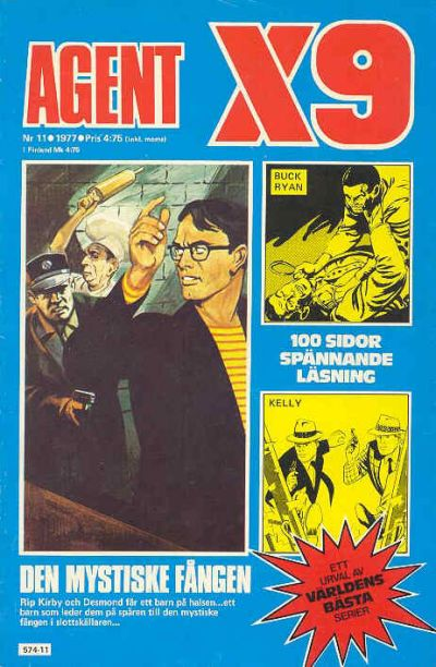 Cover for Agent X9 (Semic, 1971 series) #11/1977