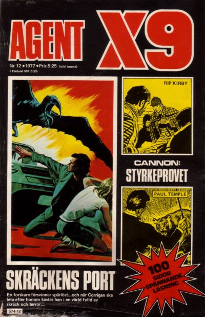 Cover for Agent X9 (Semic, 1971 series) #12/1977