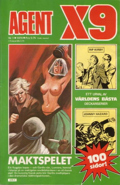 Cover for Agent X9 (Semic, 1971 series) #1/1979