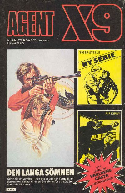 Cover for Agent X9 (Semic, 1971 series) #6/1979
