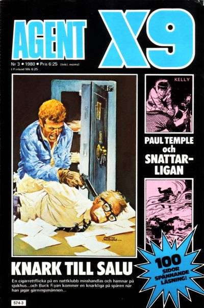 Cover for Agent X9 (Semic, 1971 series) #3/1980