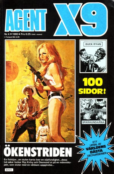 Cover for Agent X9 (Semic, 1971 series) #4/1980