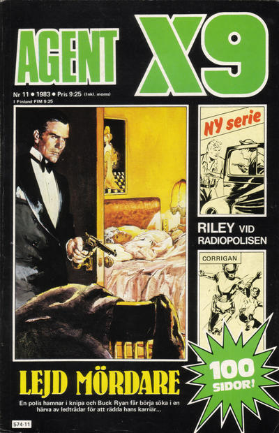 Cover for Agent X9 (Semic, 1971 series) #11/1983