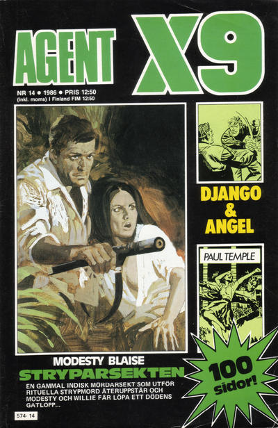 Cover for Agent X9 (Semic, 1971 series) #14/1986