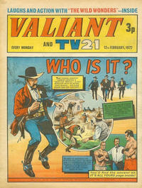 Cover Thumbnail for Valiant and TV21 (IPC, 1971 series) #12th February 1972