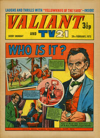 Cover Thumbnail for Valiant and TV21 (IPC, 1971 series) #26th February 1972