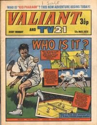 Cover Thumbnail for Valiant and TV21 (IPC, 1971 series) #13th May 1972