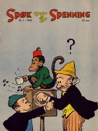 Cover Thumbnail for Spøk og Spenning (Oddvar Larsen; Odvar Lamer, 1950 series) #1/1952