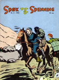 Cover Thumbnail for Spøk og Spenning (Oddvar Larsen; Odvar Lamer, 1950 series) #2/1952