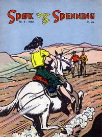 Cover Thumbnail for Spøk og Spenning (Oddvar Larsen; Odvar Lamer, 1950 series) #5/1952