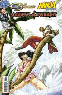 Cover Thumbnail for Gold Digger/Ninja High School: Maidens of Twilight (Antarctic Press, 2009 series) #2