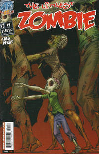 Cover Thumbnail for The Littlest Zombie (Antarctic Press, 2010 series) #1