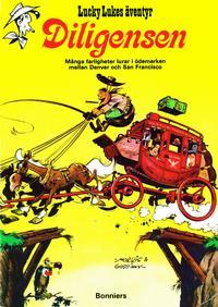 Cover Thumbnail for Lucky Lukes äventyr / Lucky Luke klassiker (Bonniers, 1971 series) #[1] - Diligensen