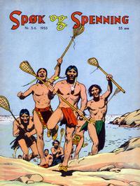 Cover Thumbnail for Spøk og Spenning (Oddvar Larsen; Odvar Lamer, 1950 series) #5-6/1953
