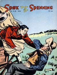 Cover Thumbnail for Spøk og Spenning (Oddvar Larsen; Odvar Lamer, 1950 series) #9-10/1953